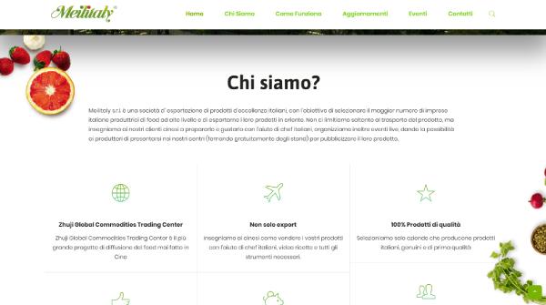 Hexaweb - Portfolio Meilitaly Chi Siamo
