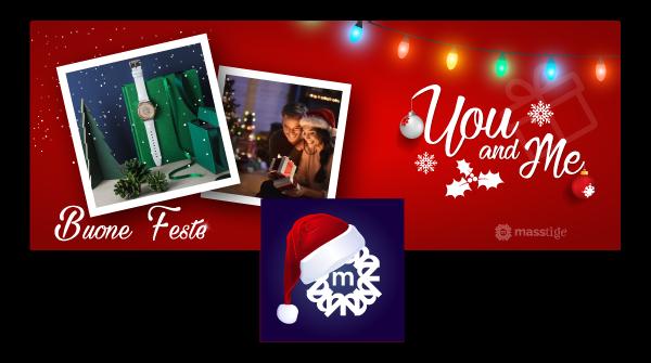 Hexaweb - Portfolio Masstige Immagini Social Natale