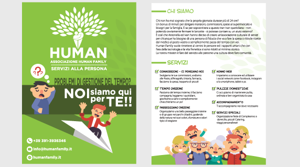 Humanfamily.it - Flyer a 4