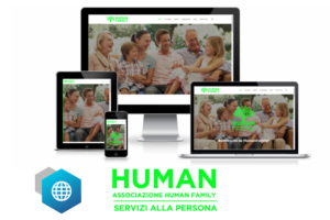 Hexaweb - Portfolio Associazione Human Family